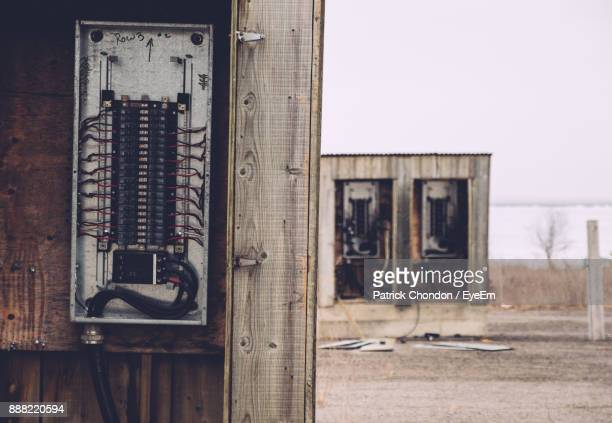Close-Up Of Electric Switchboard