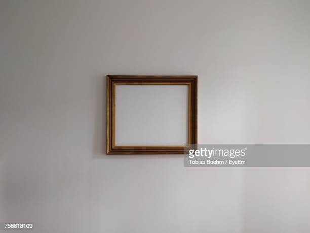Close-Up Of Empty Picture Frame