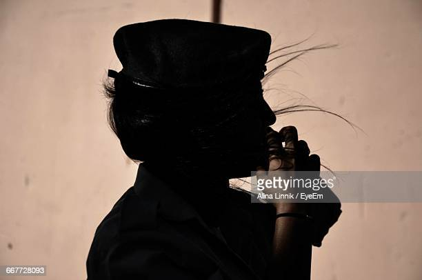 close-up of female soldier - israeli woman stock pictures, royalty-free photos & images