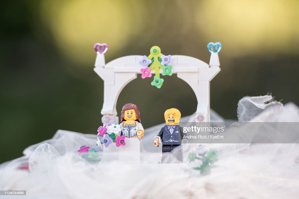 Close-Up Of Figurines : Foto stock