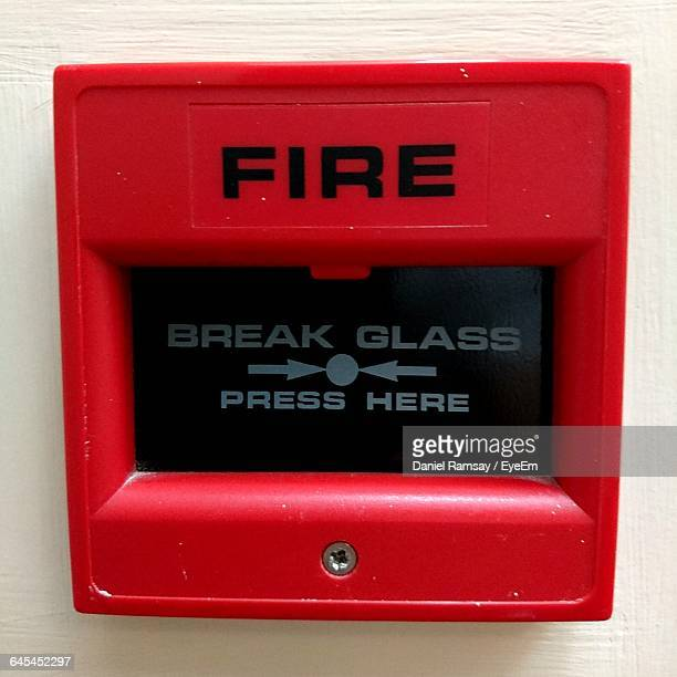 Close-Up Of Fire Alarm