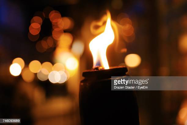 close-up of fire at night - drazen stock pictures, royalty-free photos & images