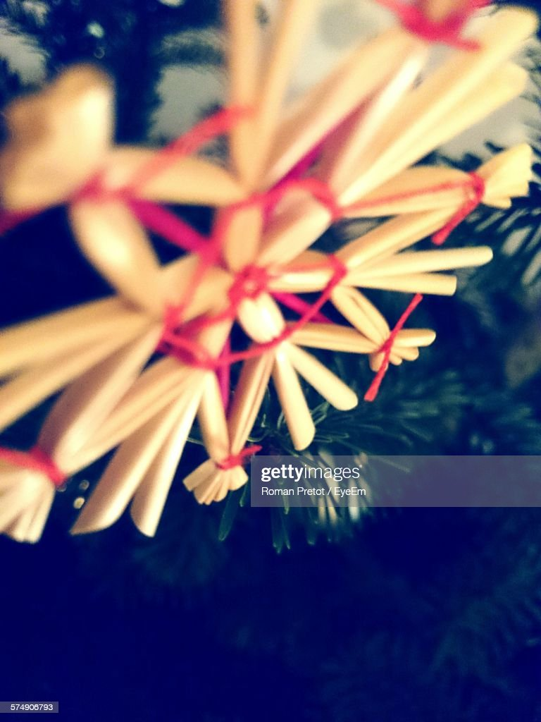Close-Up Of Floral Pattern Decoration : Stock-Foto