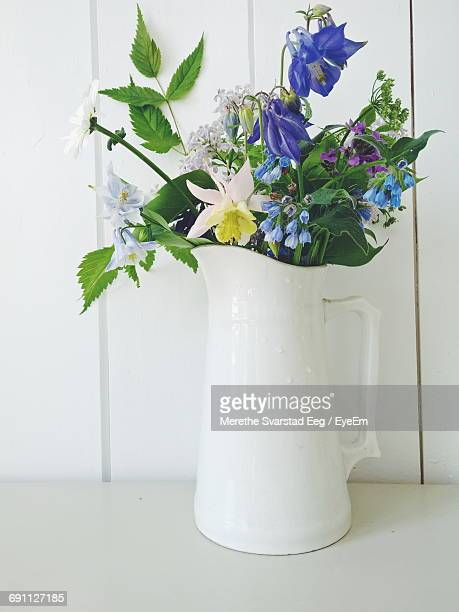 Close-Up Of Flowers In Jug