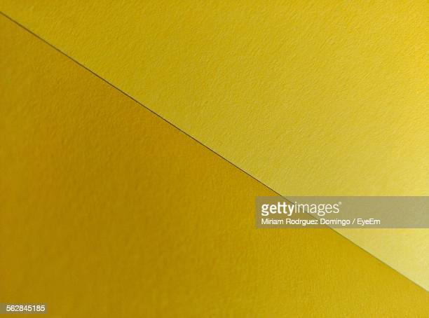 Close-Up Of Folded Yellow Paper