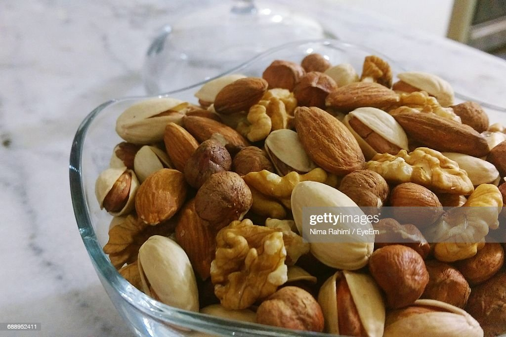 Close-Up Of Food In Bowl : Stock Photo