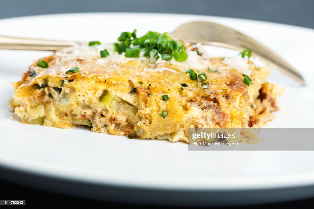 Close-Up Of Food In Plate : Stock Photo