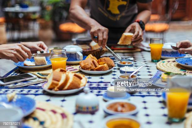close-up of food on table - north africa stock photos and pictures