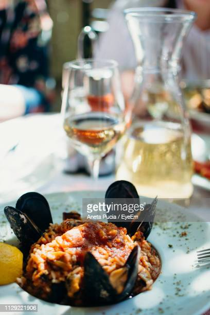 close-up of food served in plate on table - aneta eyeem stock pictures, royalty-free photos & images