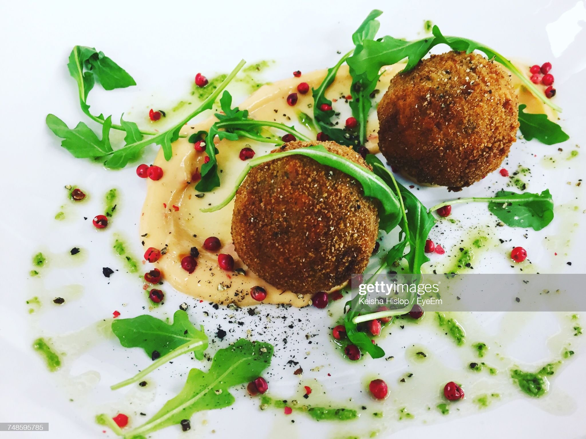 Close-Up Of Food Served In Plate : Foto stock