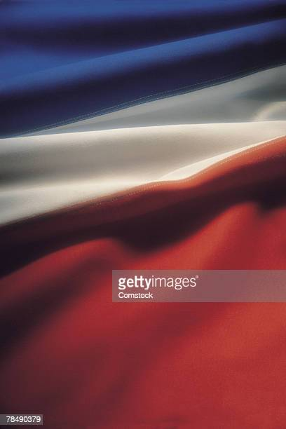 Close-up of French flag