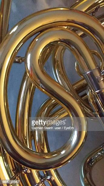 Close-Up Of French Horn