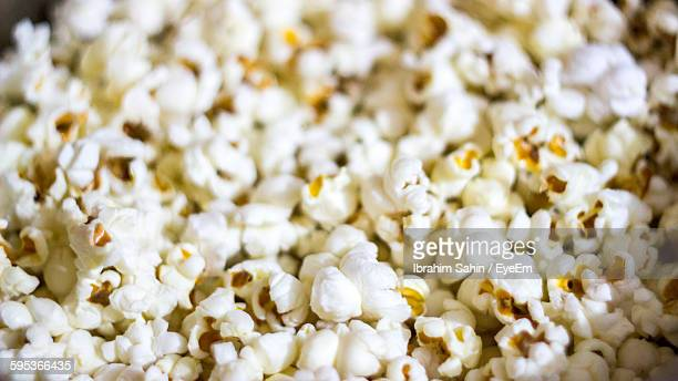 Close-Up Of Fresh Popcorn