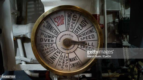 close-up of gauge - pressure gauge stock photos and pictures