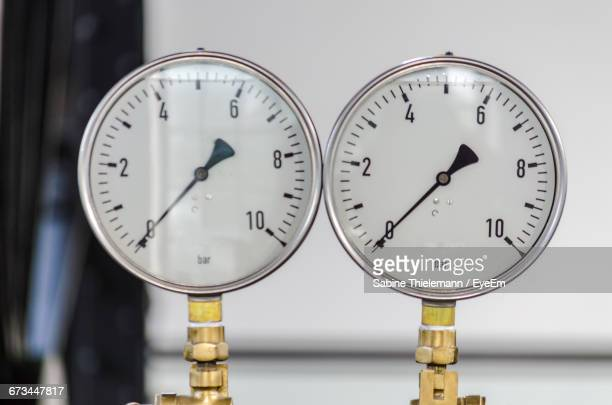 Close-Up Of Gauges