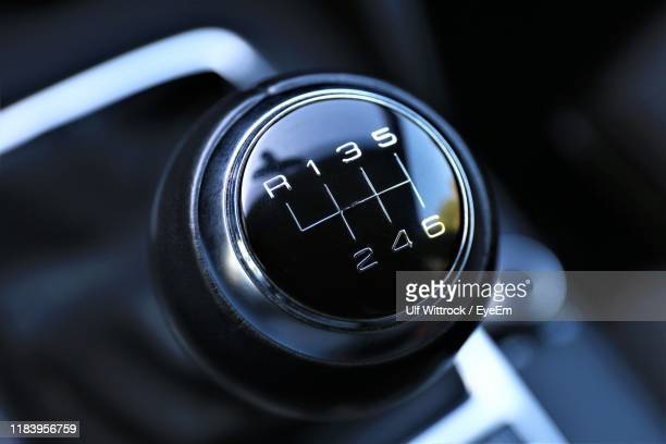 close-up of gearshift - gearstick stock pictures, royalty-free photos & images