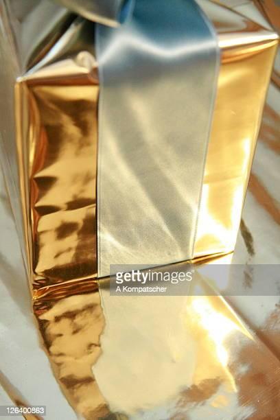Close-up of gift box