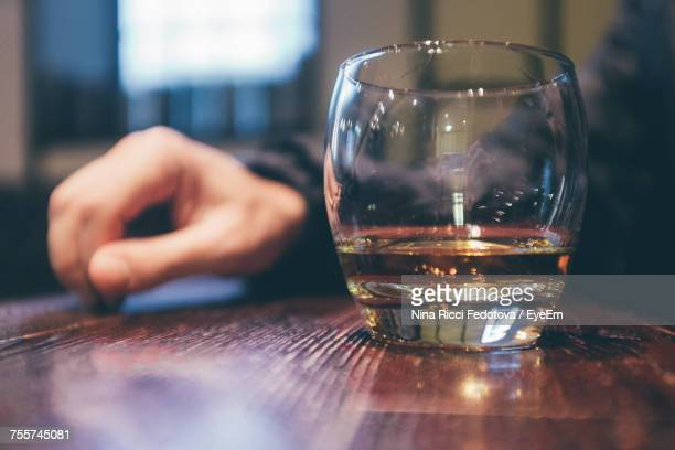 close-up of glass on table - strathclyde stock pictures, royalty-free photos & images