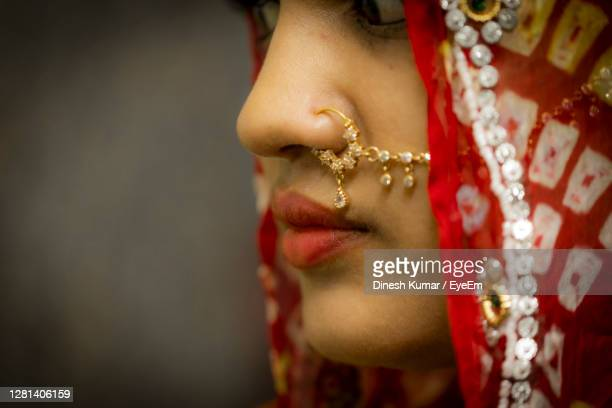 closeup of gorgeous fashion model woman portrait, girls lips - india stock pictures, royalty-free photos & images