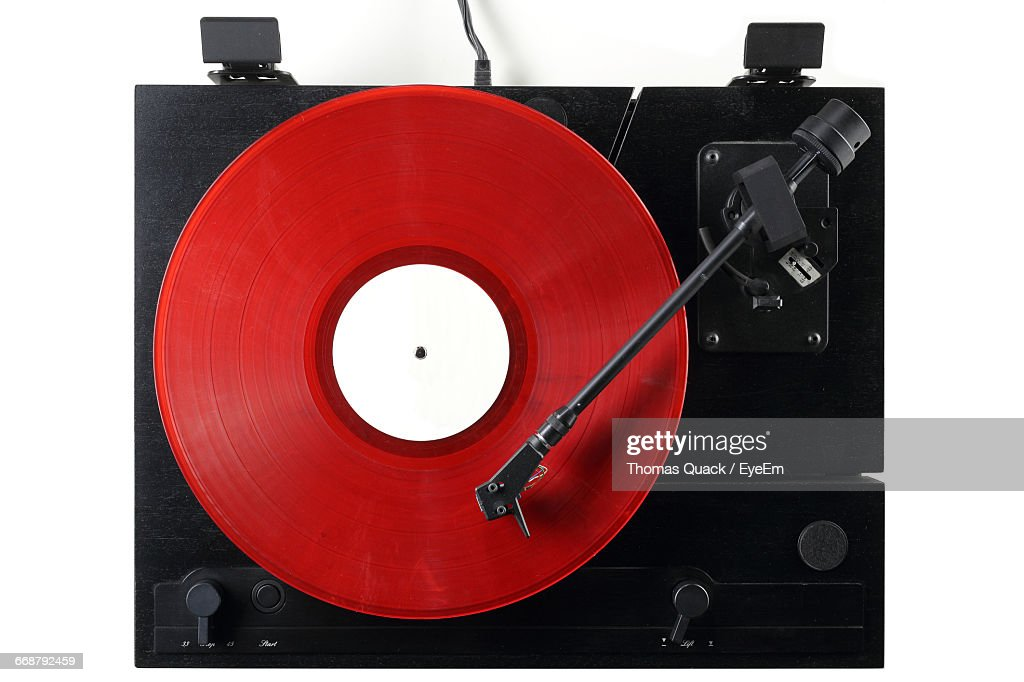 Close-Up Of Gramophone : Stock Photo