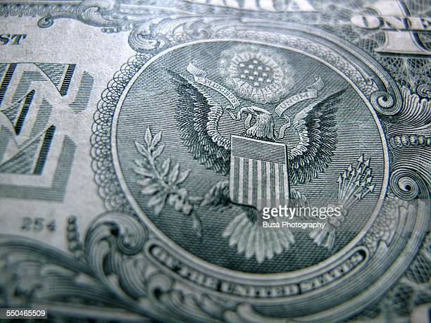 Close-up of Great Seal of the United States