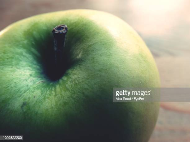 Close-Up Of Green Apple