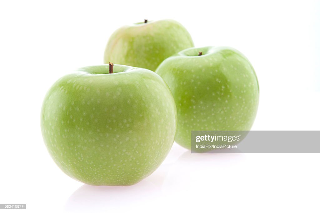Close-up of green apples : Stock Photo