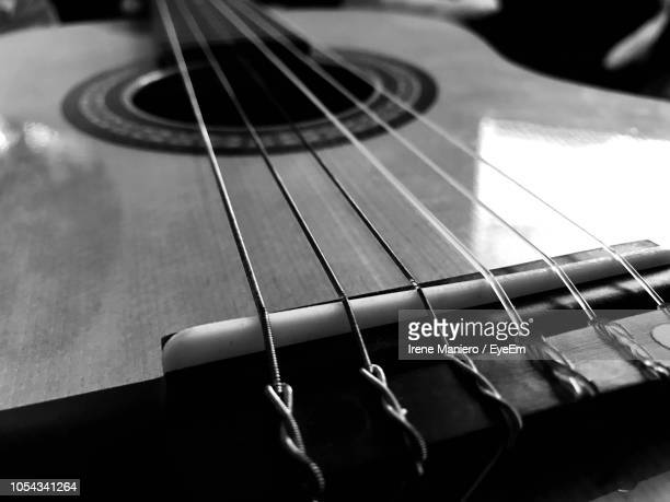 close-up of guitar - stringed instrument stock pictures, royalty-free photos & images