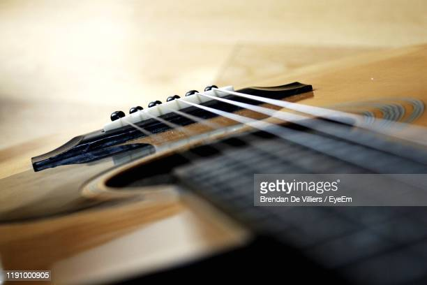 close-up of guitar - guitar stock pictures, royalty-free photos & images