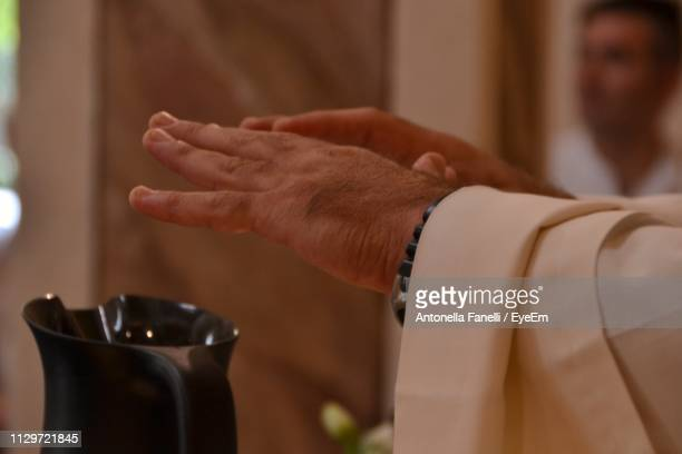 Close-Up Of Hands Gesturing