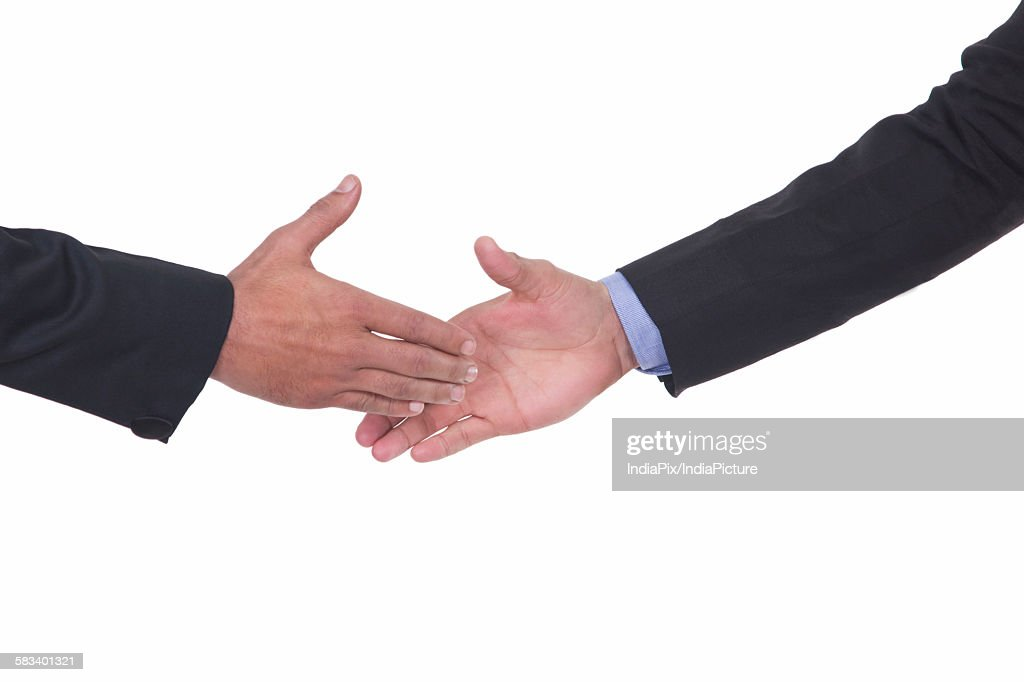 Close-up of handshake : Stock Photo