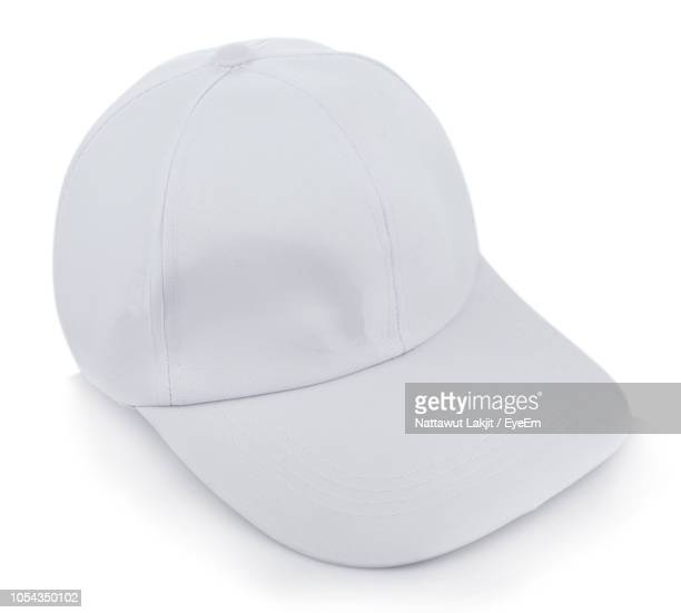 Close-Up Of Hat Against White Background