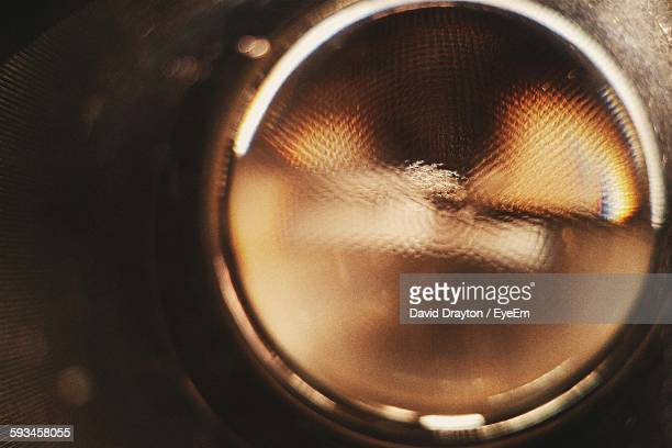 close-up of headlight - vehicle light stock pictures, royalty-free photos & images