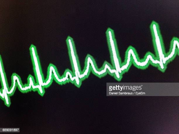 Close-Up Of Heartbeat
