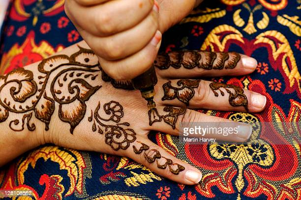 Mehndi Henna Lemon : Henna powder stock photos and pictures getty images