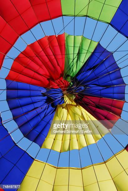 close-up of hot air balloon - gerhard schimpf stock photos and pictures