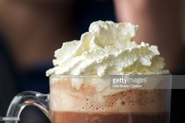Close-Up Of Hot Chocolate
