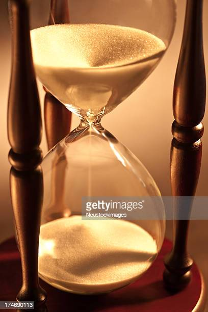 Closeup of hourglass