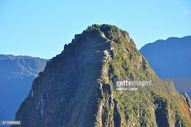 "closeup of huayina picchu mountain - ""markus daniel"" stock pictures, royalty-free photos & images"