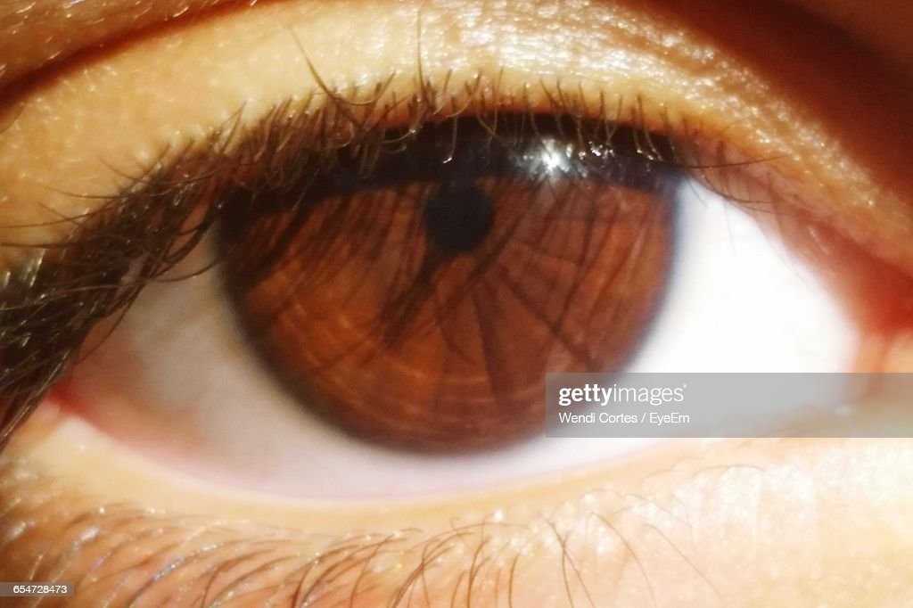 Closeup Of Human Eye Stock Photo | Getty Images