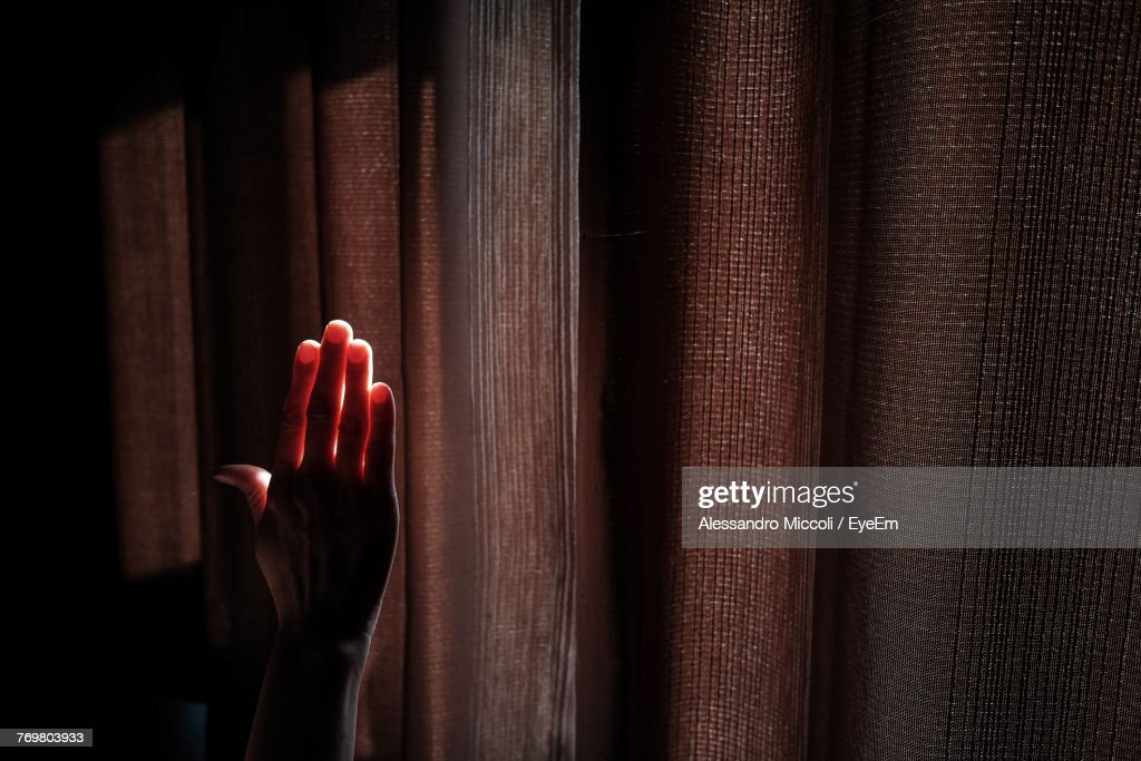Close-Up Of Human Hand : Stockfoto