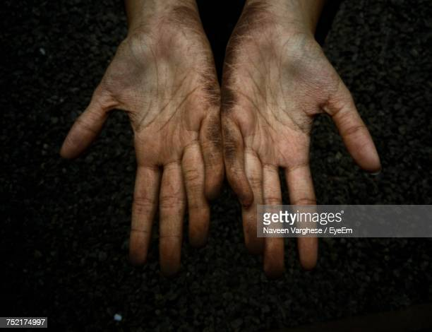 Close-Up Of Human Hands
