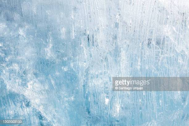 close-up of iceberg - ice stock pictures, royalty-free photos & images