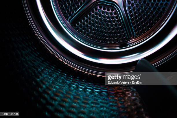 close-up of illuminated machine part - washing machine stock pictures, royalty-free photos & images