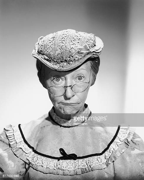Closeup of Irene Ryan as Granny from the television series The Beverly Hillbillies Ca 1960s