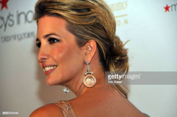 Closeup of Ivanka Trump as she poses during a dinner for the European School of Economics Foundation at Cipriani New York New York December 5 2012
