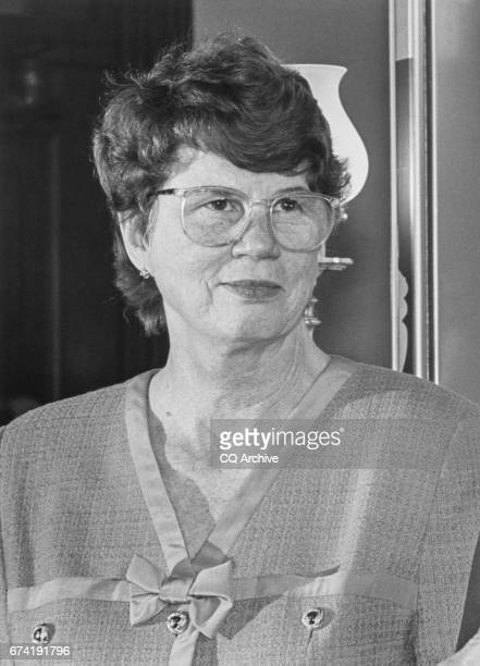 Closeup of Janet Reno in March 1993