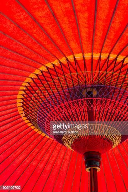 Close-up of Japanese Umbrella