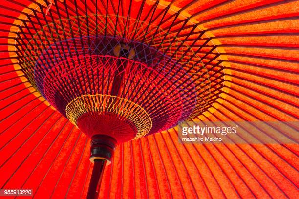Close-up of Japanese Umbrella