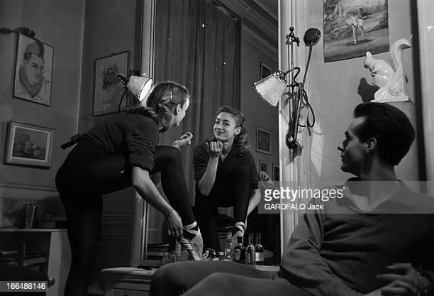 CloseUp Of JeanPaul Andreani And Viviane Delini France Paris le premier danseur de l'Opéra de Paris JeanPaul ANDREANI vient d'obtenir la consécration...